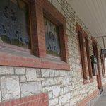 Frontage of historic Tanunda Hotel