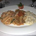 the 3 pasta sampler