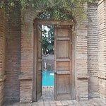 Roman Bath in Garden