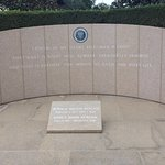 The burial site of Ron and Nancy Reagan