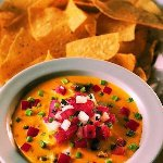 Start your meal with a Top Shelf Queso.