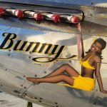 Nose Art of the North American P-51 Mustang Bunny.
