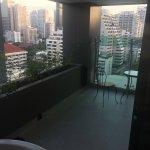 balcony view Jacuzzi Suite Club Sky
