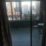 secondary balcony Jacuzzi Suite Club Sky