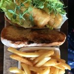 fish finger sandwich