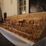 Wooden manger: St. Michael's church