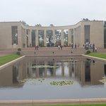 Memorial & Pond