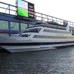 'Spirit of New York' moored at Pier 61.
