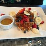 Breakfast waffle