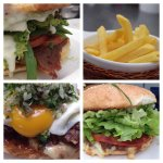 diferentes tipos de carnes  y hamburguesas vegetarianas