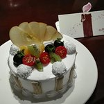 Überraschung zum Geburtstag vom Hotel.