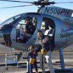 Ground crew took pic after flight--open door!