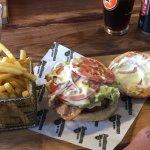 .... Burger & Chips....Mmmmmmmmm-h!