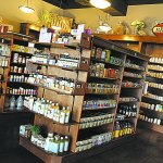 Judes Health and Java House has a large supply of essential oils, local honey, soaps and supplem