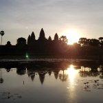 Sun Rise at Angkor Wat