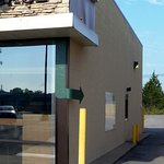 Follow the green arrow to our drive-thru window