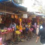 Vendor shops on way to Mahalakshmi Temple