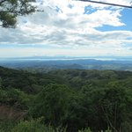View of the Nicoya Gulf on the day tour to Monteverde