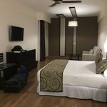 Double Bedroom in the Family suite.