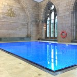 You can see South Loch Ness hills from the Abbey Swimming Pool