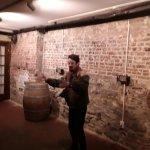 Norton in the cellar