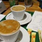 Café expresso e café americano