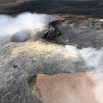 smoking craters