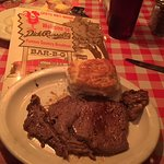 The Steak Biscuit - real steak - amazingly awesome - Get This