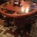 Old School Tables and Chairs - Very Nice