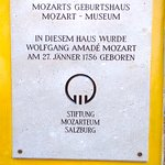 Mozart birth house and museum