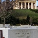Robert E. Lee's house at Arlington Cemetery