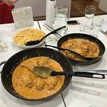 Chicken paprkas with nokedli