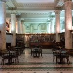The breakfast room which was once a bank, very grand