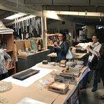 Ana Thiel Glass sculpture art studio