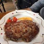 Entrecôte (plat de frites à partager servi en plus)
