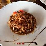 Andouillette (plat de frites à partager servi en plus)