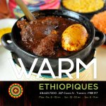 It's freezing cold!!! Warm up with comfort food from Ethiopiques. Dine-in, take-out or delivery.