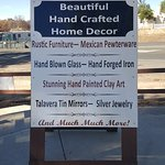Home decor, pottery and gifts.