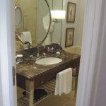 Our bathroom at the Ritz-Carlton