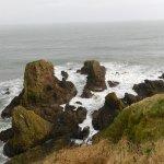 Coastline from Dunnottar Castle, Stonehaven