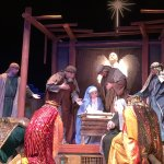 Living Nativity Show at Christmas
