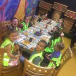14 children having a brilliant time after soft play...😁