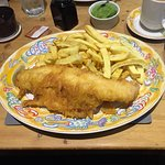 Admirals Haddock and Chips (i.e. large portion)