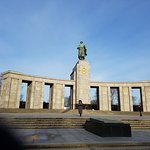 Russian soldier memorial built in the erstwhile East Germany.