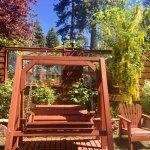 Lush Gardens at Cedar Glen Lodge!