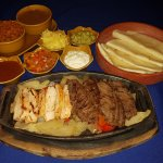 Sizzling Fajitas wiht Guacamole Only 40 Baht extra