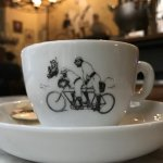 Very lovely coffee cup, you can buy it. large size and small size