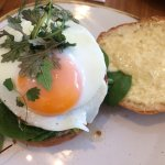 Egg & Haloumi Roll
