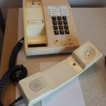 In the early 80's, this model of landline phones were on the cutting edge of technology...