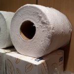 toilet roll has been who knows where.